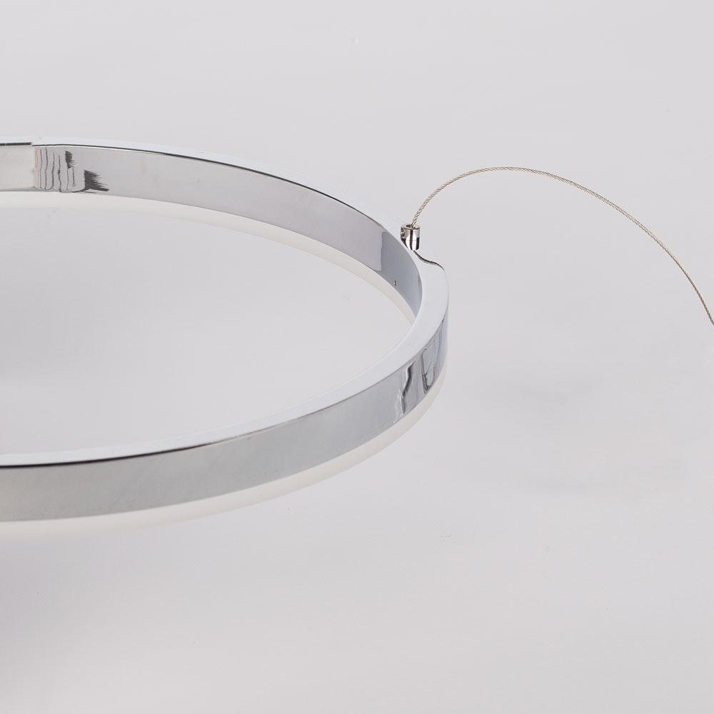 s.LUCE Ring 100 LED Hängelampe 5m Abhängung 12