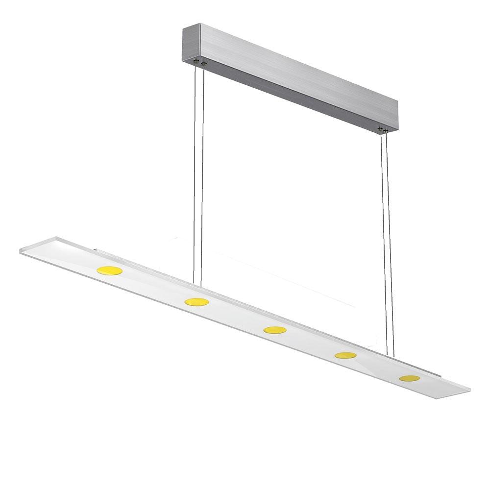 Sun LED Pendelleuchte + Touch-Dimmer 5 x 6,4W 2210lm 2700K