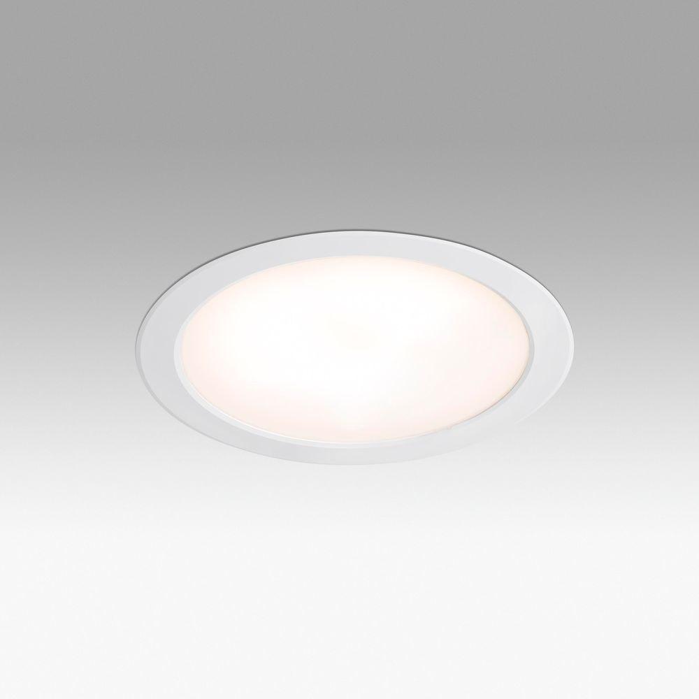 LED Bad-Einbauleuchte Tod 24W 3000K IP44 Weiß