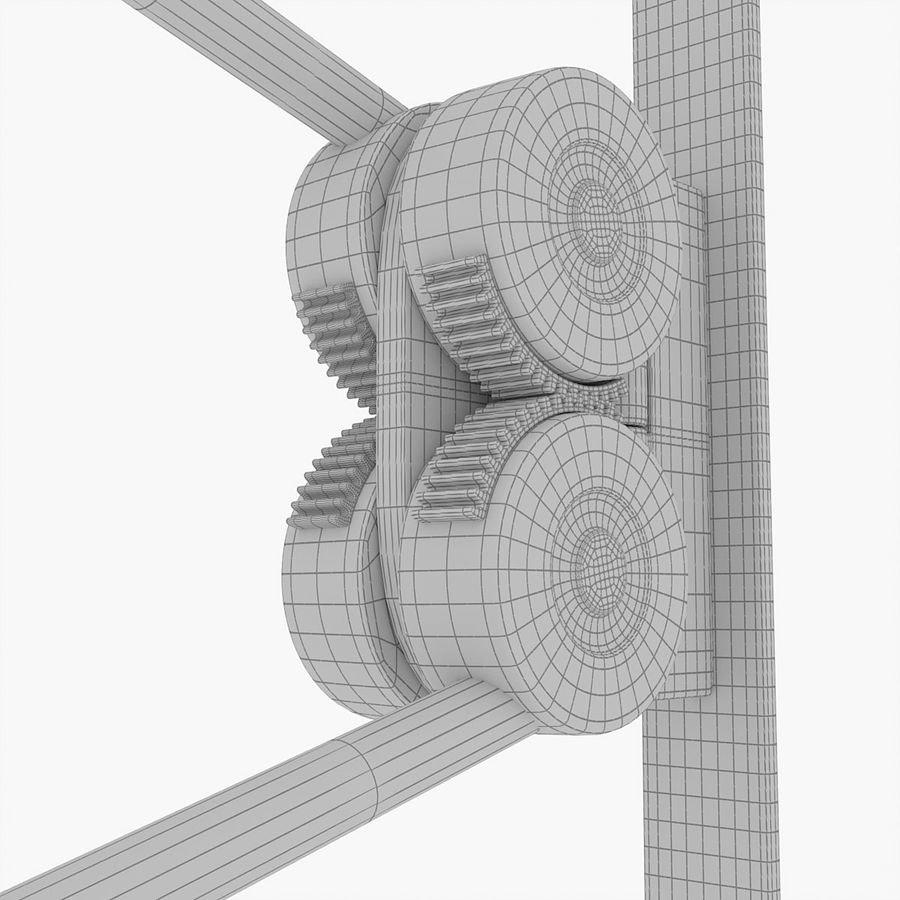 Luceplan LED Wandstrahler Counterbalance mit Gegengewicht 190cm 8