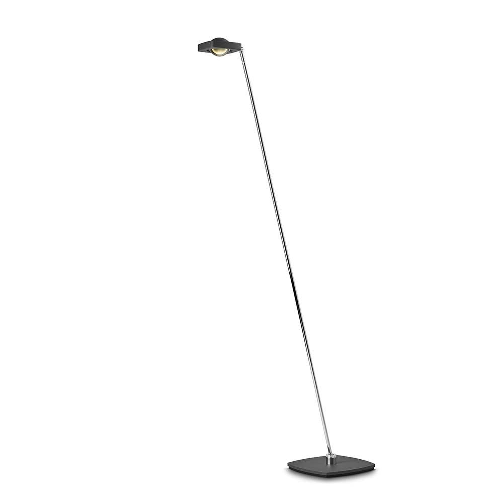 Oligo LED Stehleuchte Kelveen mit Berührungsdimmer 90° Graphit-Matt 2