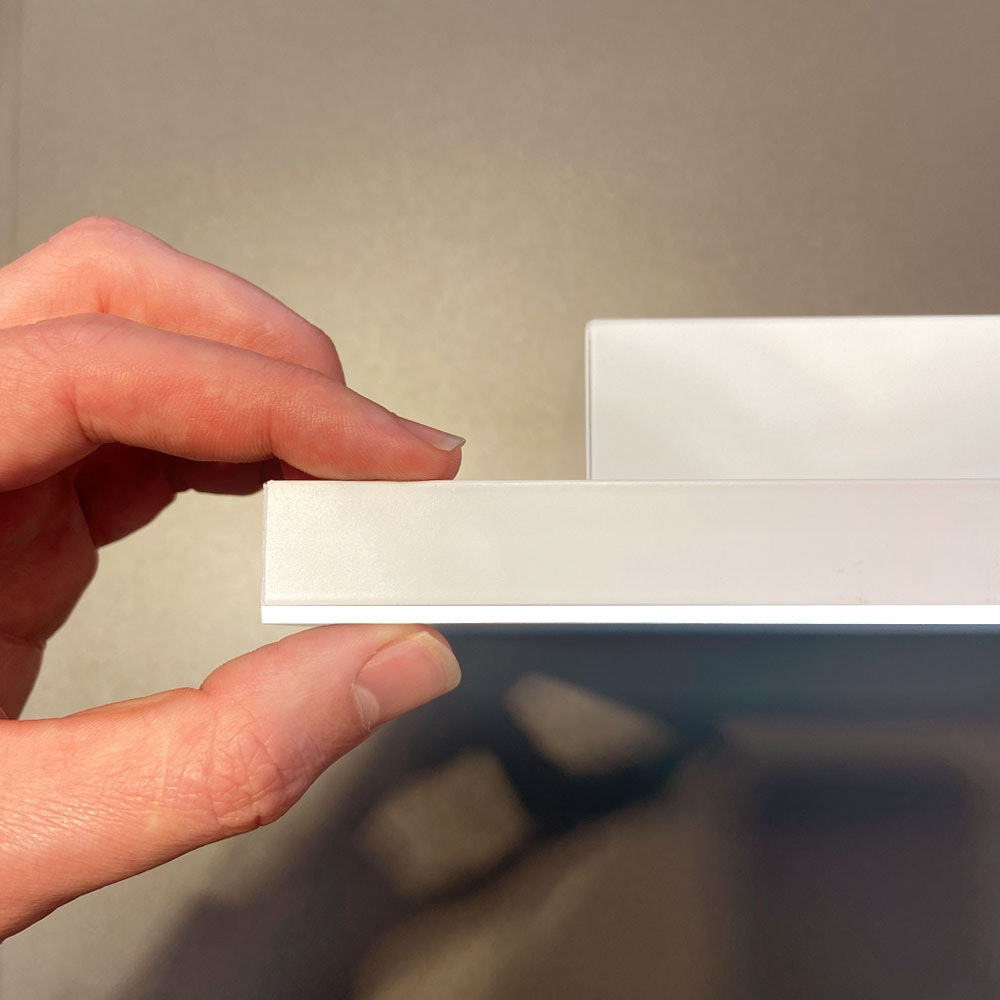 Q-Flat 2.0 rahmenlose LED Deckenaufpanel 120 x 30cm 3000K thumbnail 3