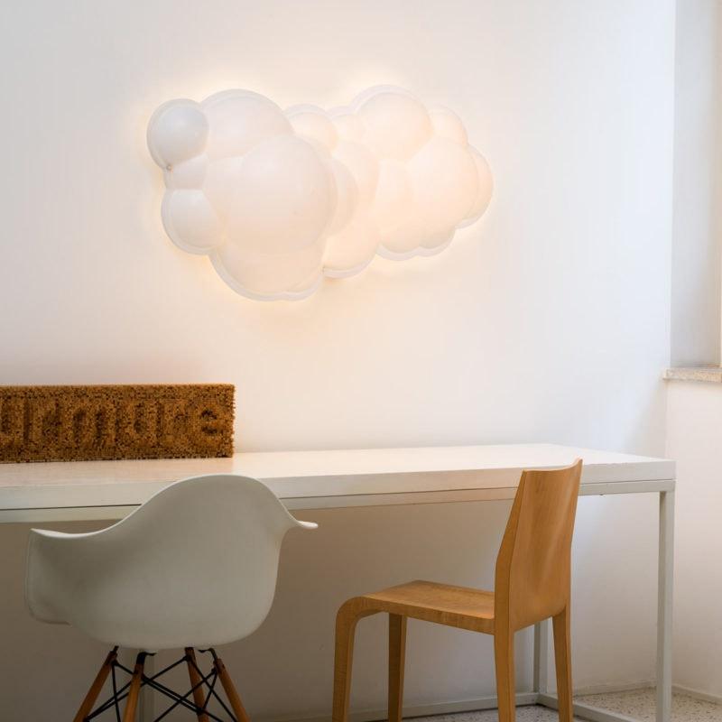 Nemo Nuvola Minor LED Wand- & Deckenleuchte Wolke 100cm thumbnail 3