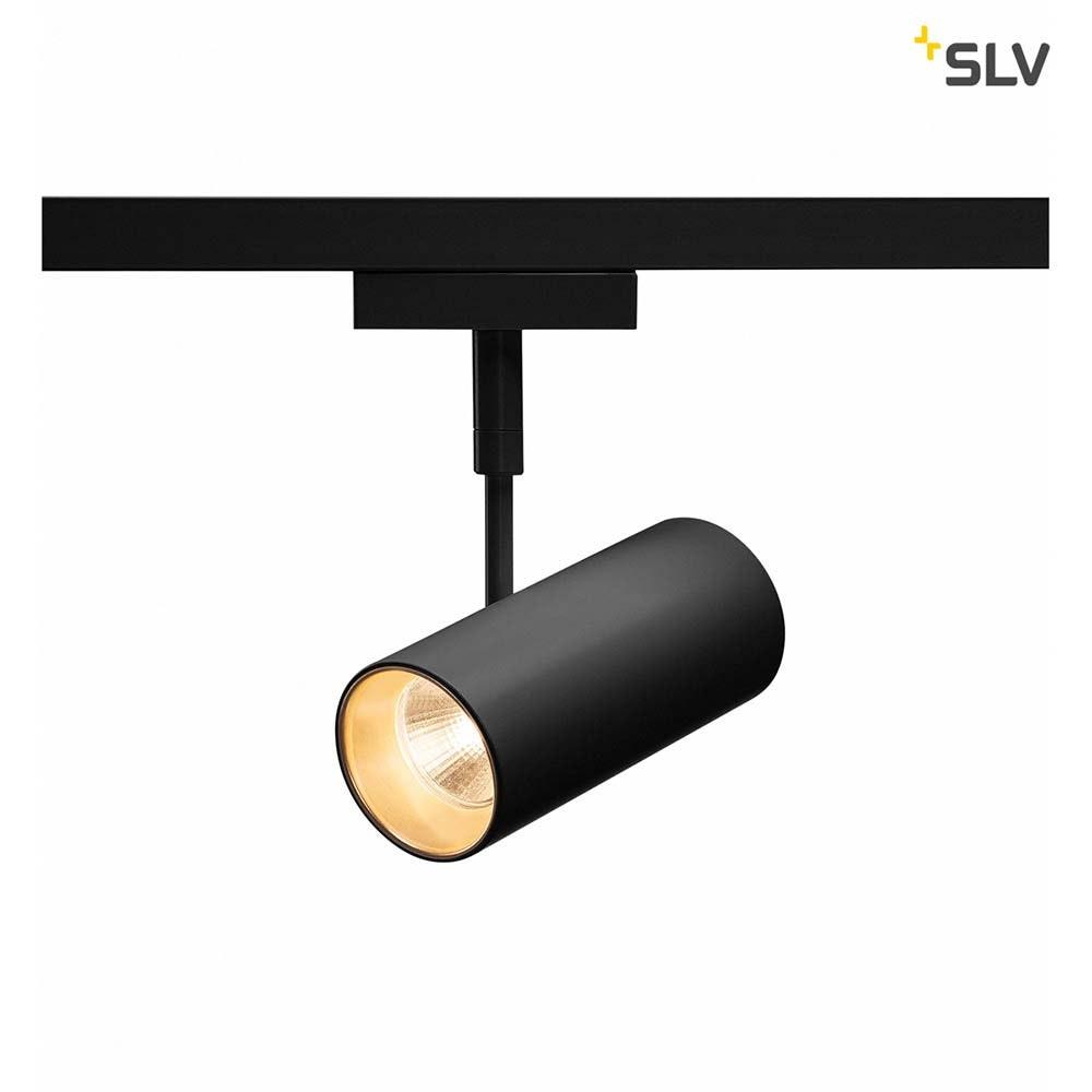 SLV Revilo LED Strahler für 2Phasen-Stromschiene 2700K Schwarz 36° 3