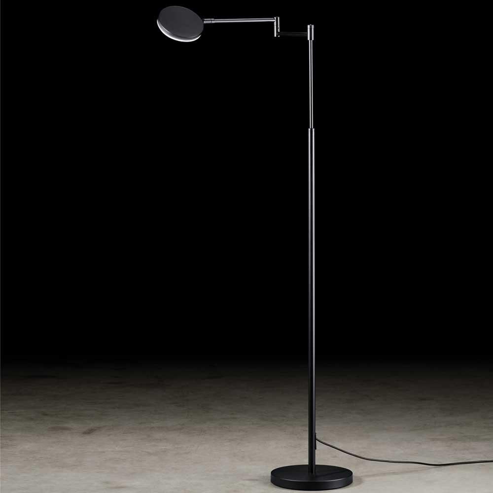 Holtkötter LED-Stehlampe Plano B mit Tastdimmer Schwarz thumbnail 5