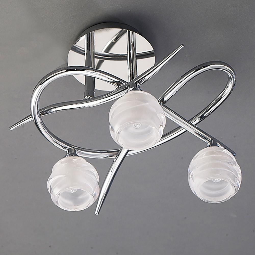 Mantra Loop 3-flammige Deckenlampe 1