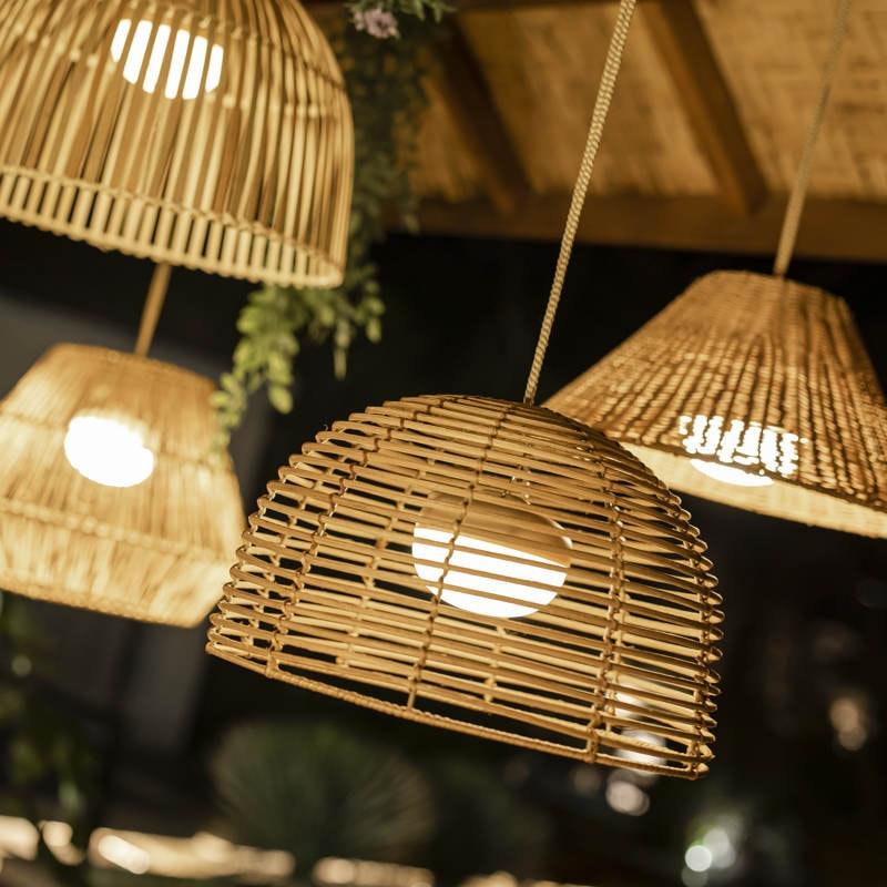 Licht-Trend natürliche LED-Hängeleuchte Bossa 1