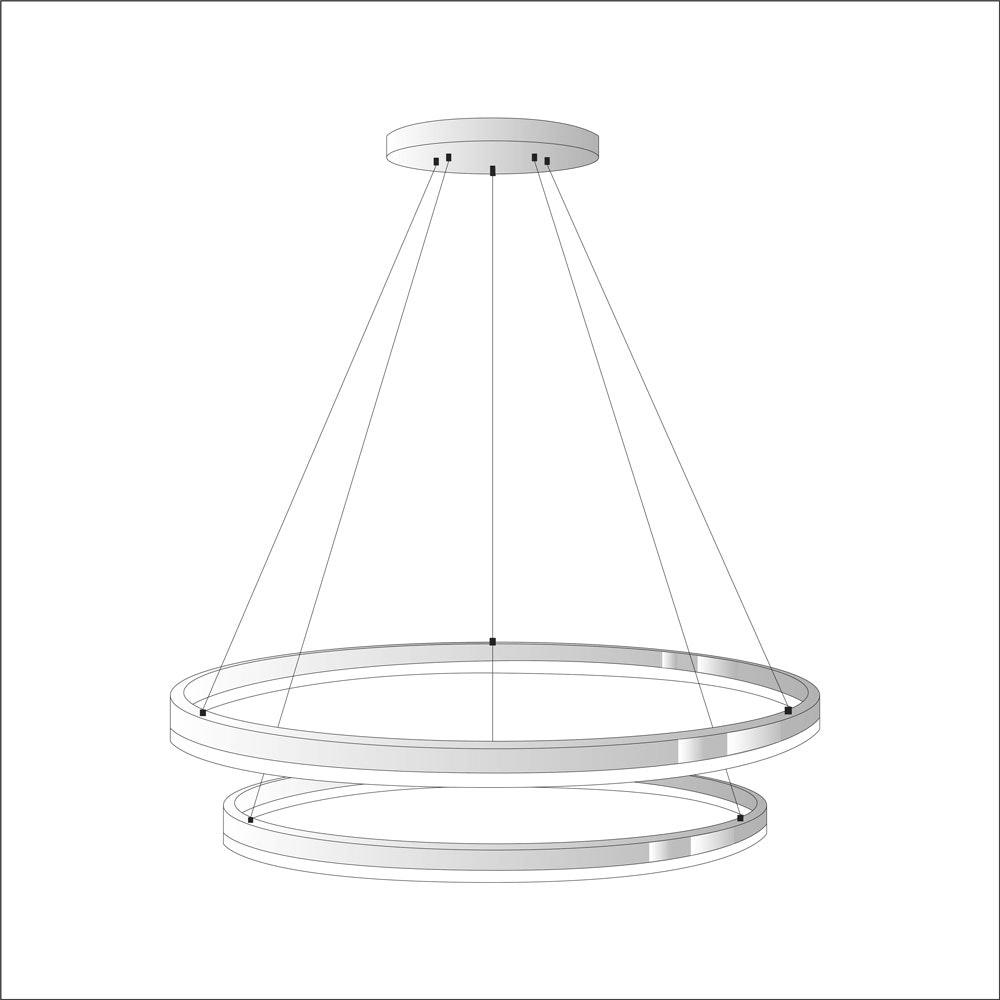 s.LUCE Ring Umbau zentrisch / exzentrisch (ohne LED-Ringe) 17