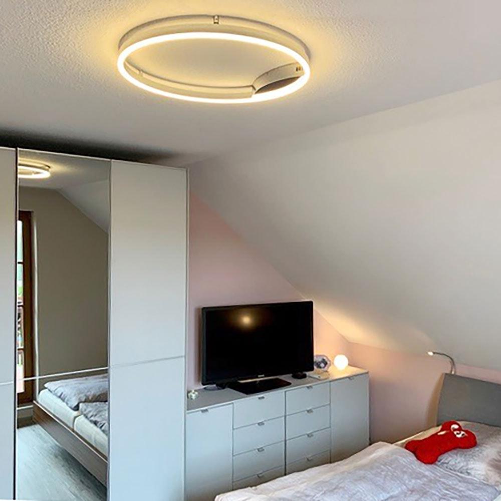 s.LUCE Ring 60 LED Wand & Deckenleuchte Dimmbar 4