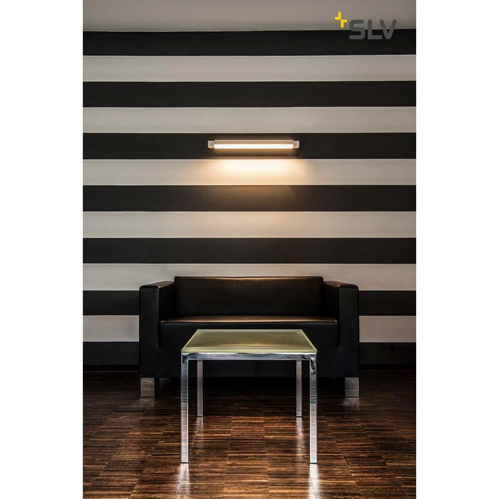 SLV Long Grill LED Wand- und Deckenleuchte Weiß 3000K 2