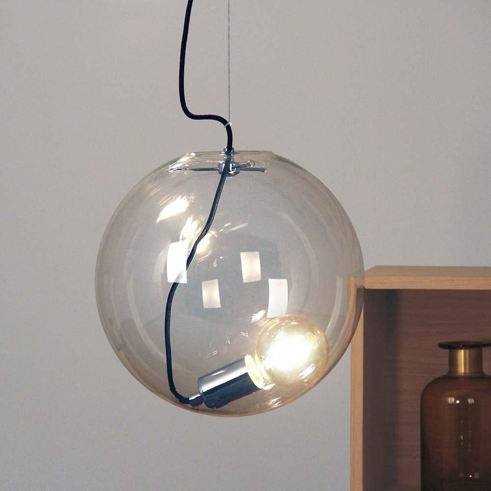 s.LUCE pro Sphere Galerieleuchte Glaskugel 5m Abhängung 8