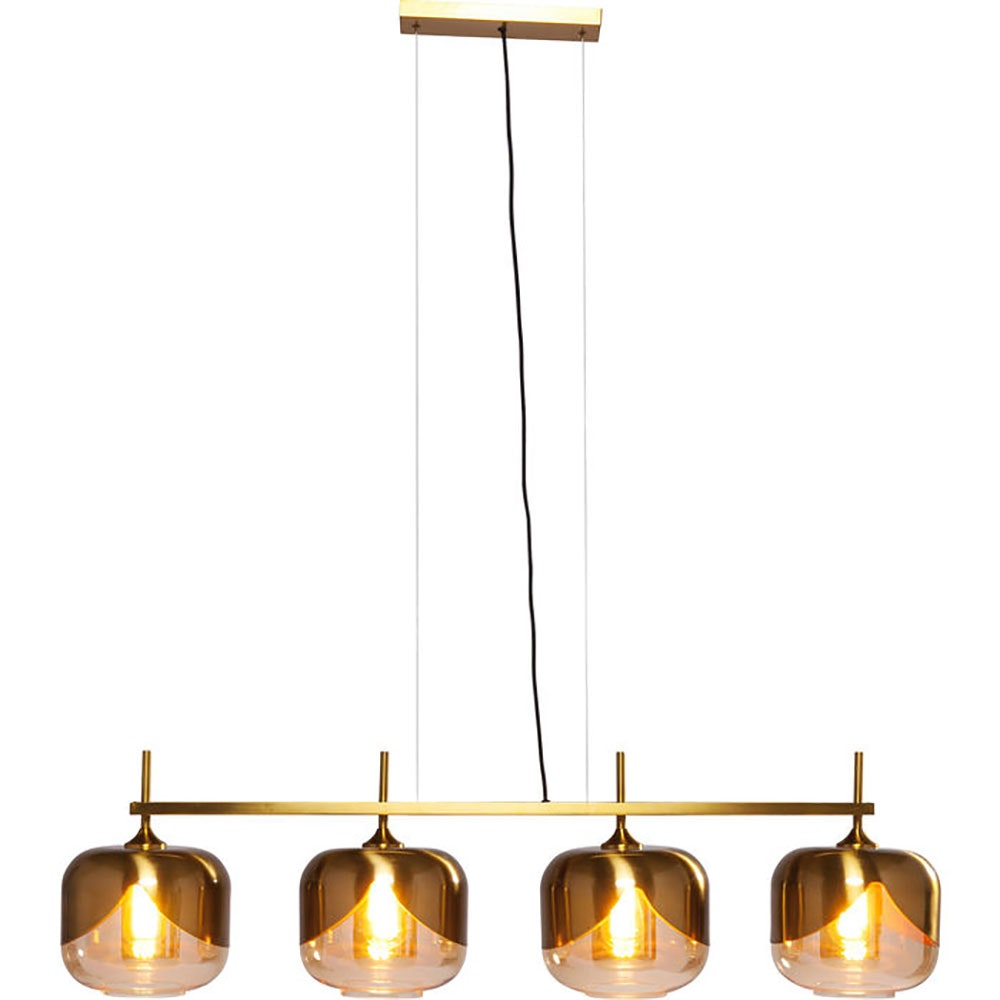 KARE Glamuröse Hängeleuchte Goblet Quattro Gold 1
