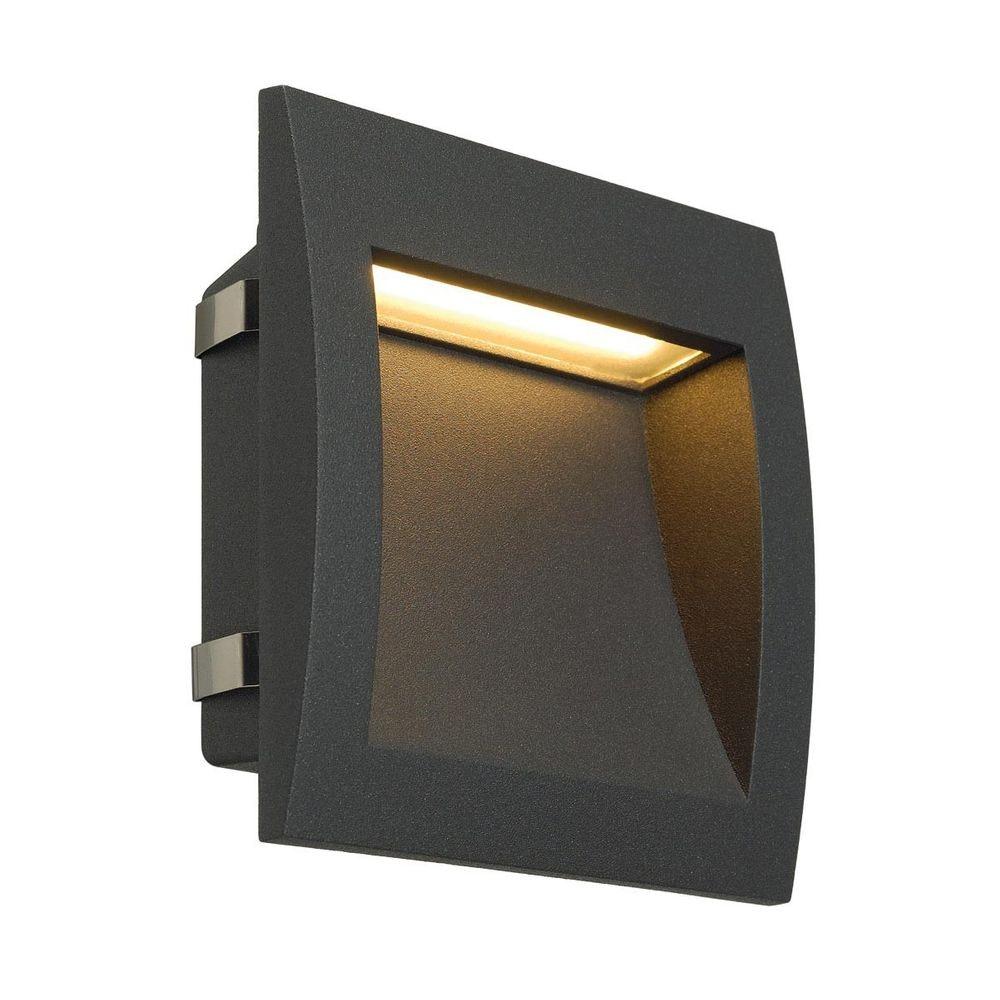 SLV Downunder OUT LED L Wandeinbauleuchte anthrazit 1