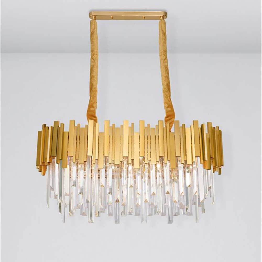 Nova Luce Kronleuchter Grane aus Metall Gold 1