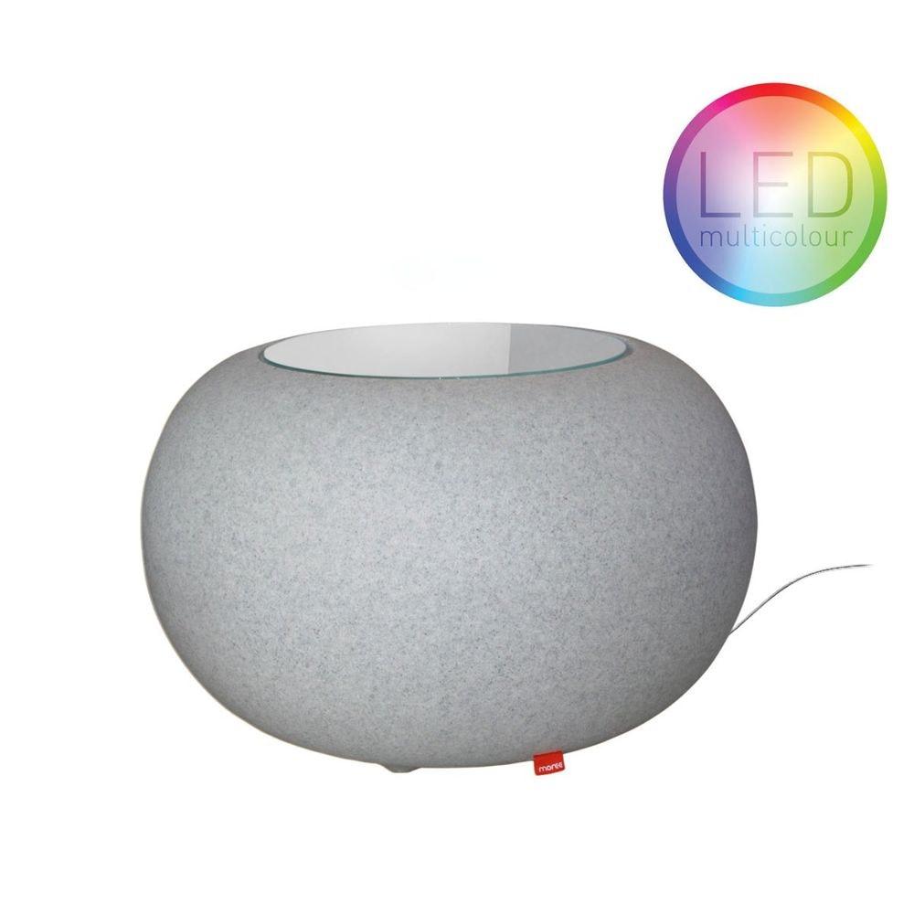 Moree Granit Bubble LED Tisch oder Hocker 2