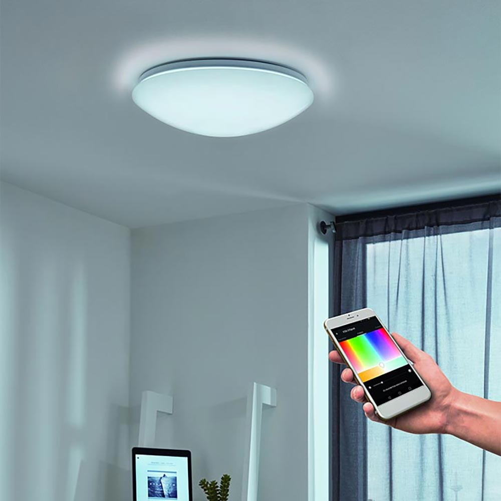 Connect LED Deckenlampe Ø 30cm 2100lm RGB+CCT 1