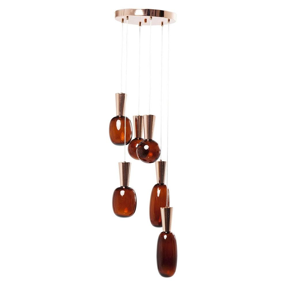 KARE LED Hängeleuchte Glass Goccia