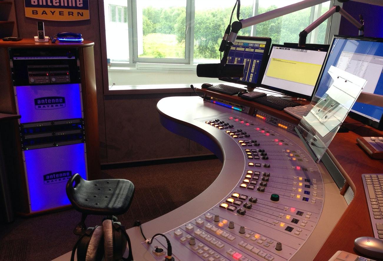 Radiostudio Lichtkonzept