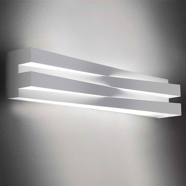 Panzeri Cross LED Wandlampe indirekt und direkt 9