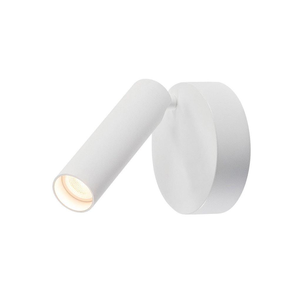 SLV Milan Single Spot LED Wand- & Deckenleuchte rund Weiß 3000K 1
