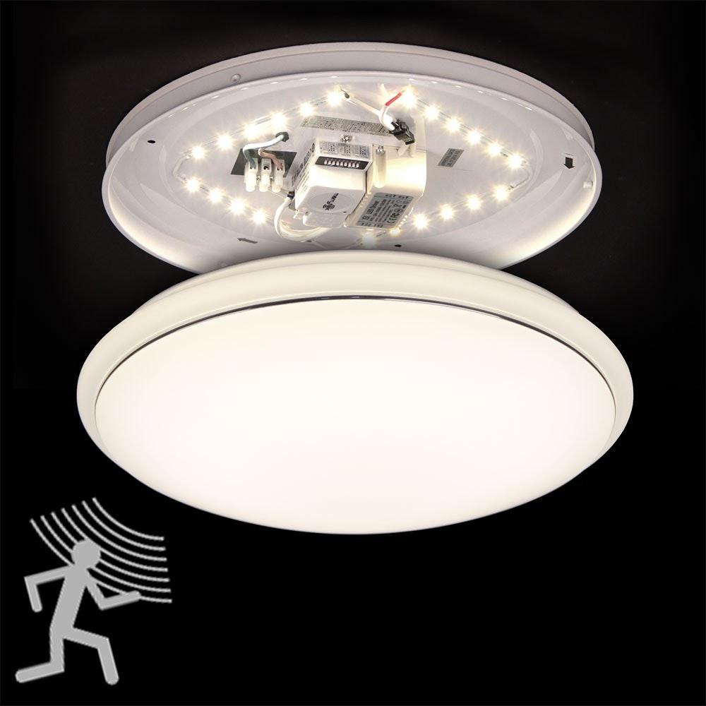 Nowa LED Deckenleuchte mit Bewegungsmelder Ø 34cm 4