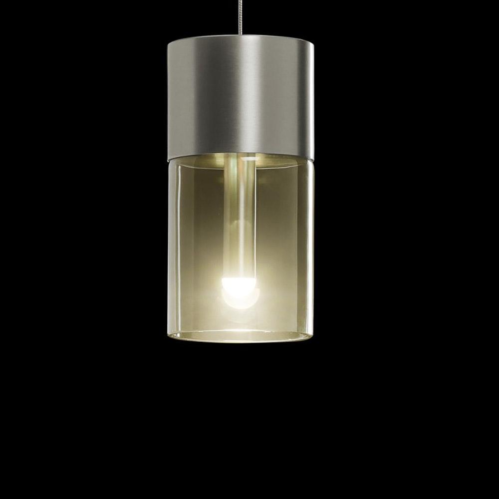 Holtkötter Glas Amber zu Leuchtenserie AURA