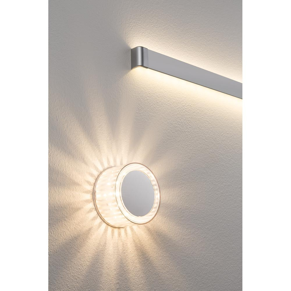 Wandleuchte YourLED DecoBeam 2,2W LED Chrom Transparent 12V 3
