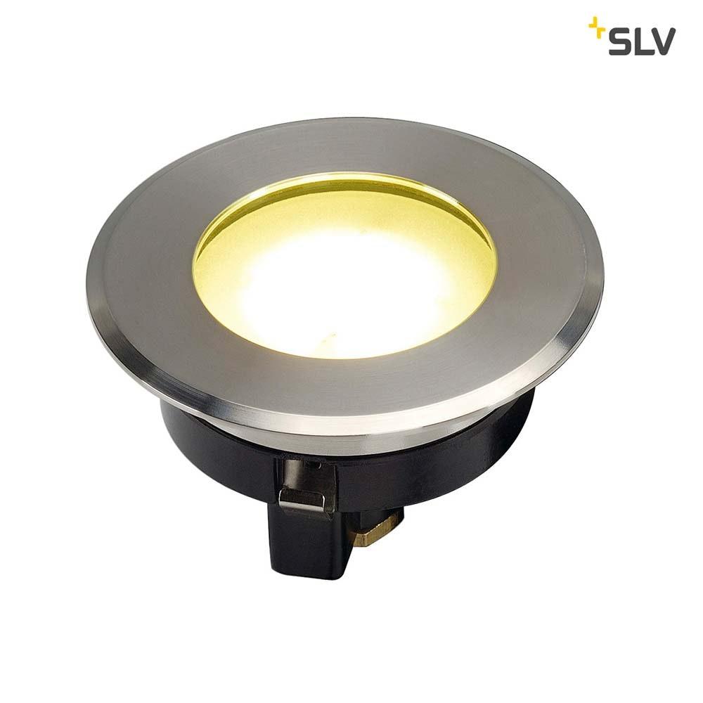 SLV Dasar Flat LED Bodeneinbauleuchte Edelstahl IP67 3