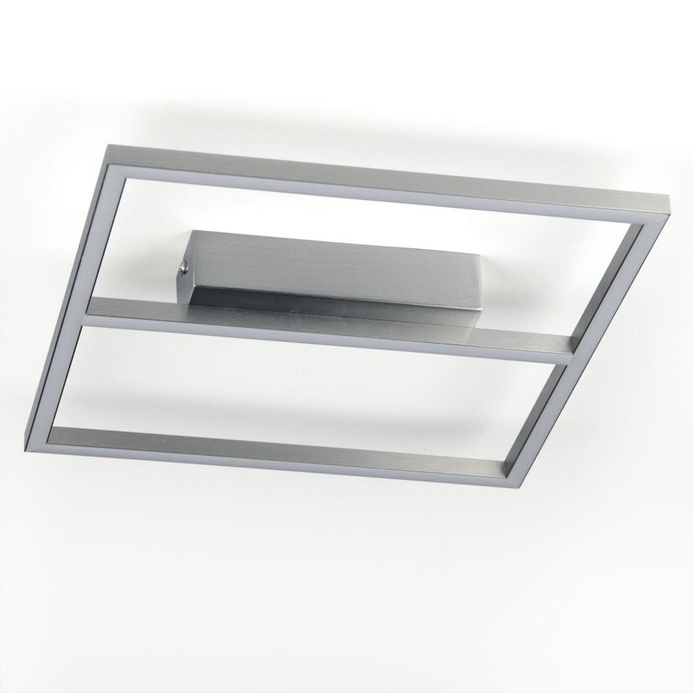 LED Wand- & Deckenleuchte 19W 30 x 30cm Alu-matt 1