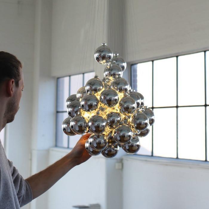 Luceplan Stochastic LED Hängelampe (Structur ohne Kugeln & Stangen) thumbnail 5
