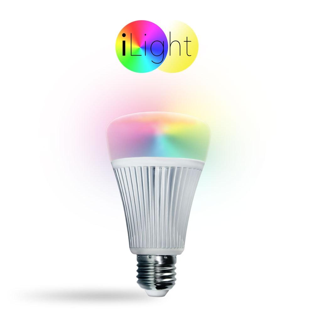 s.LUCE iLight E27 LED-Leuchtmittel 9W RGB + CCT