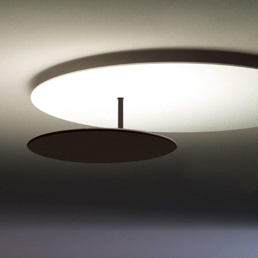 s.LUCE LED Wand- und Deckenlampe Plate Blattgold 8