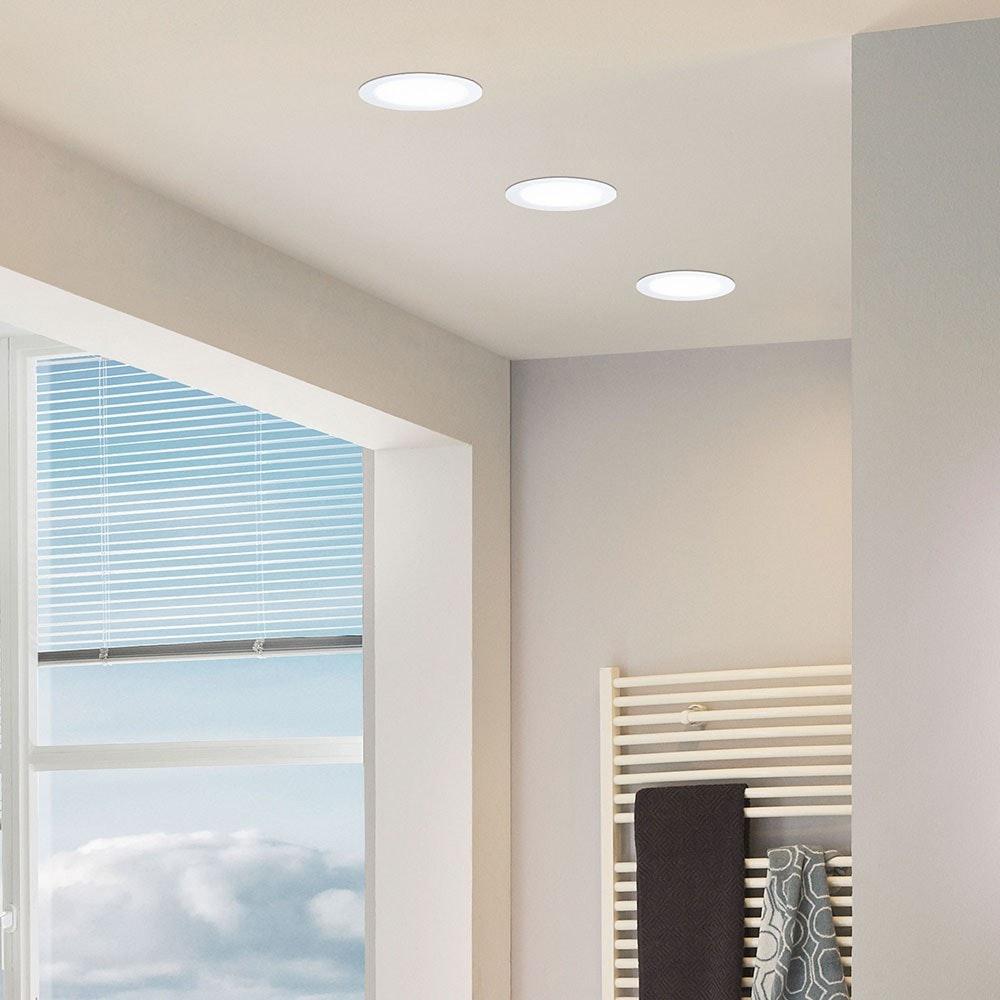 LED-Panel Einbau 1200 Lumen Ø 16,5cm IP44 23