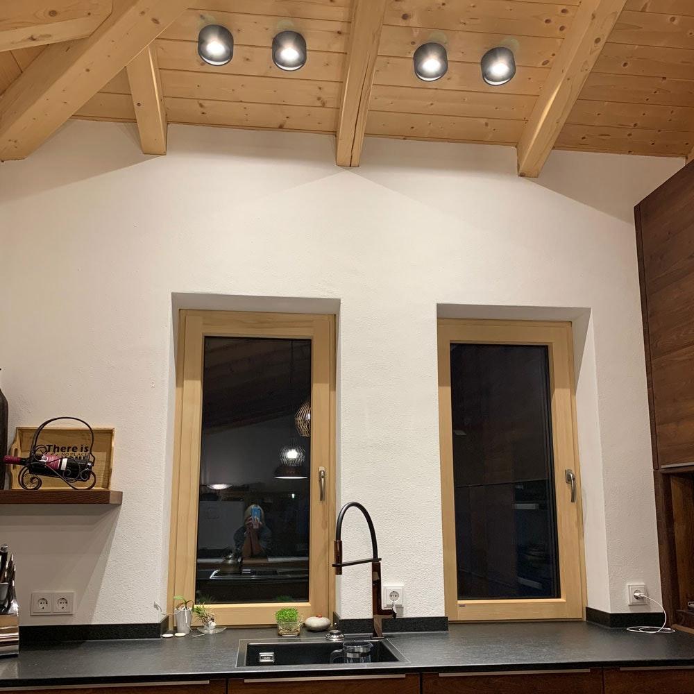 LED Aufbauspot Santa schwenkbar & dimmbar 23