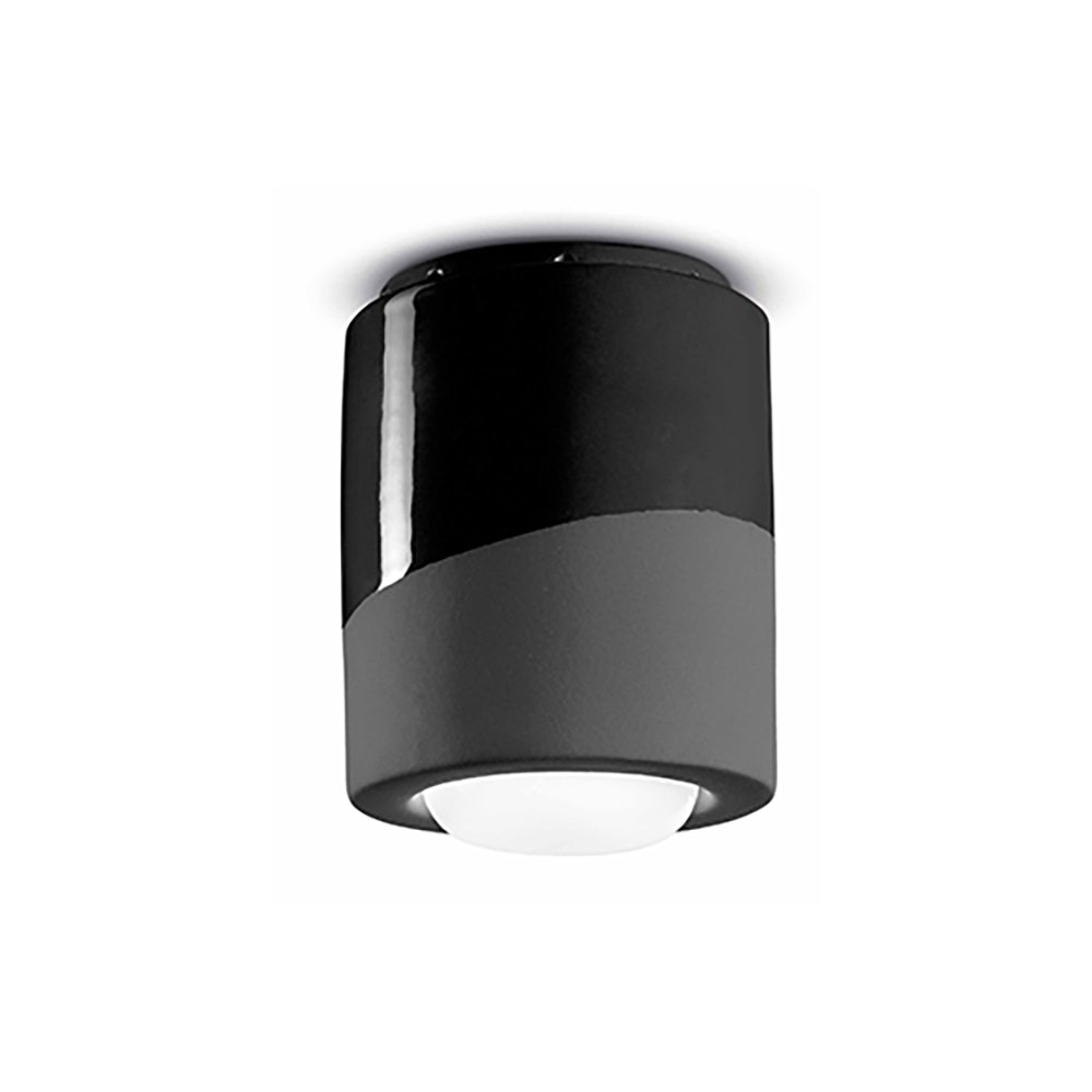 Ferroluce Pi Deckenlampe Ø 12,5cm 2