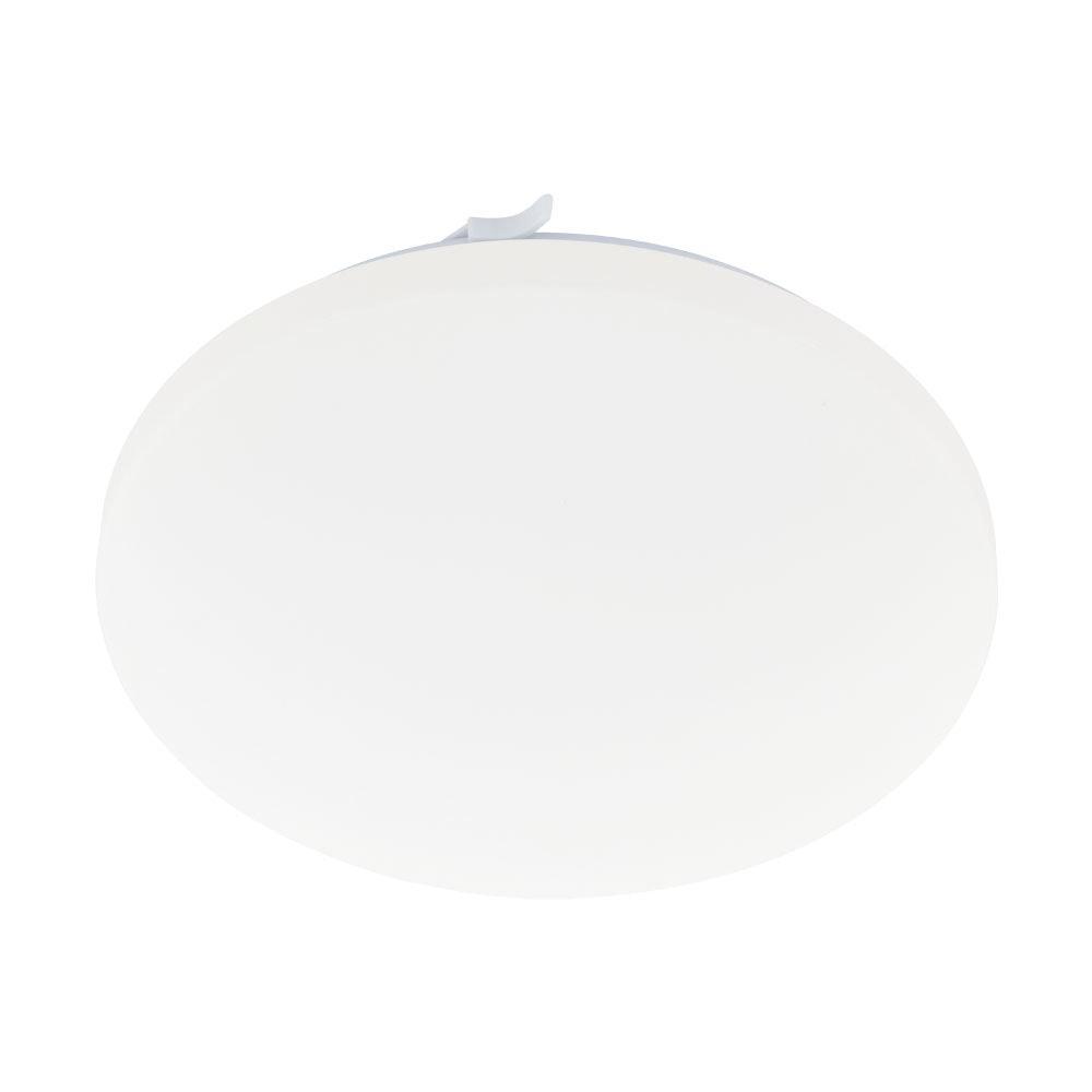 LED Deckenleuchte Frania Ø 28cm Weiß