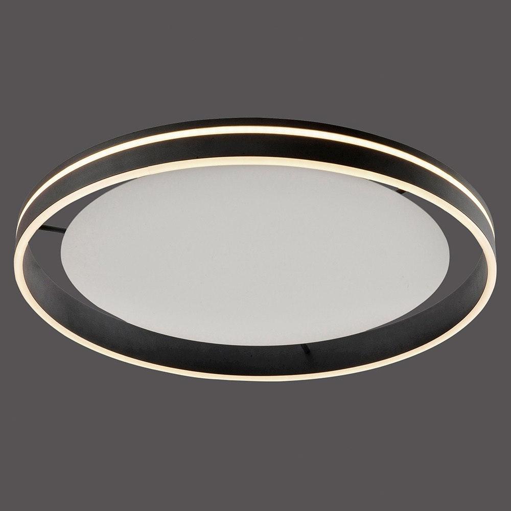 LED Deckenleuchte Q-Vito Ø 59cm CCT Anthrazit 2