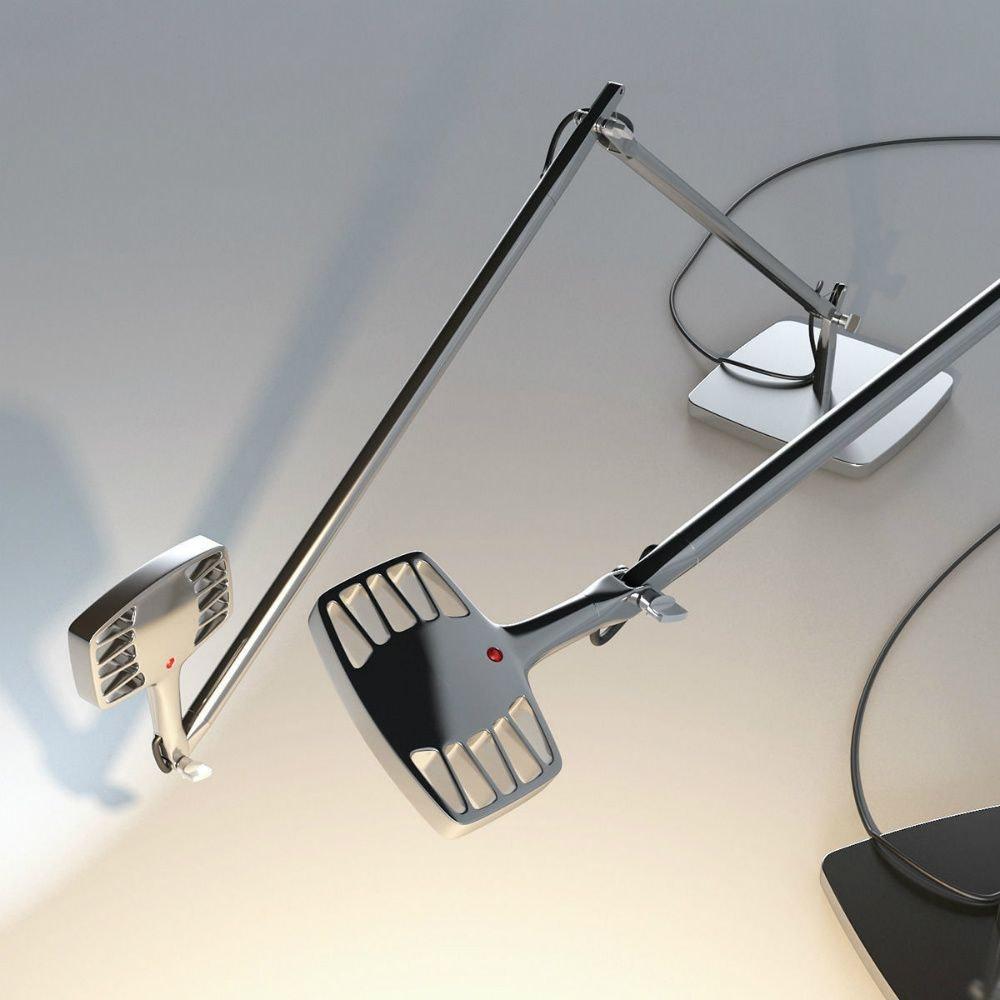 Luceplan Otto Watt LED Büro-Tischlampe 3000K (Body ohne Halterung) 10