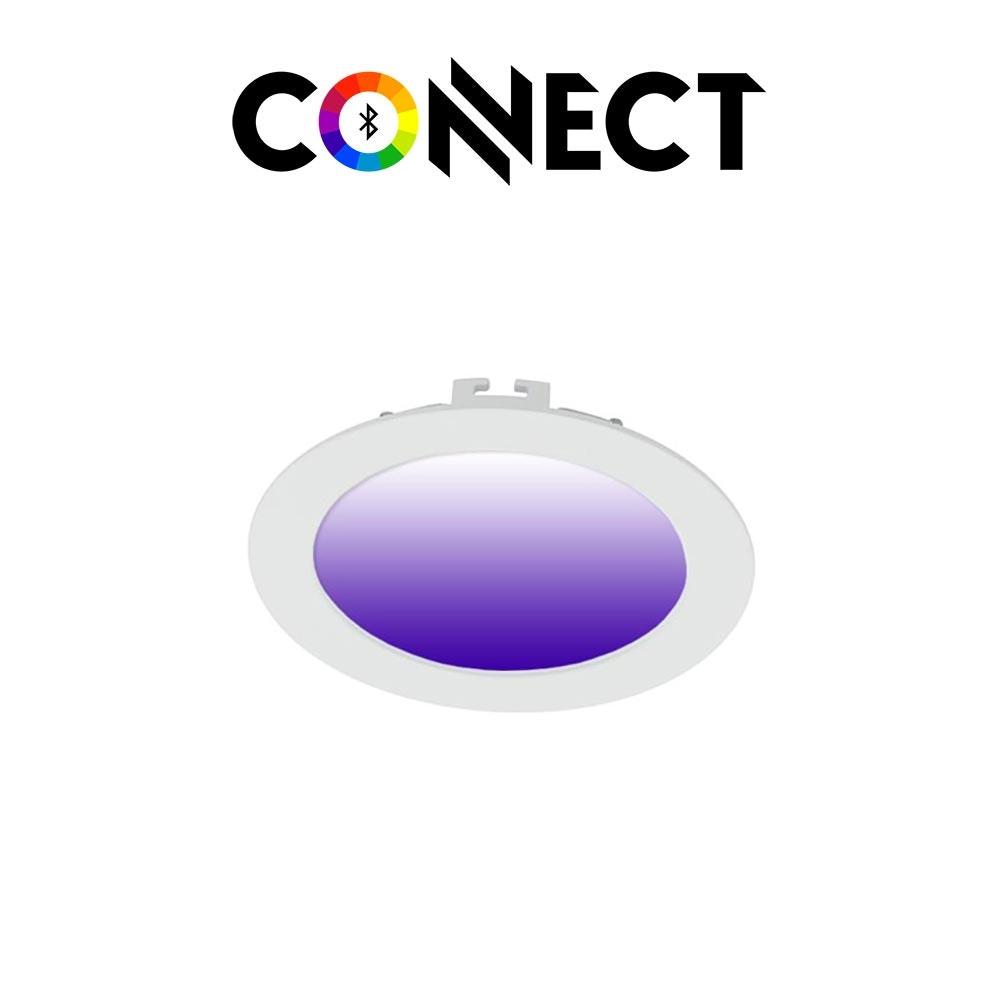 Connect LED Einbauleuchte Ø 12cm 700lm RGB+CCT 1