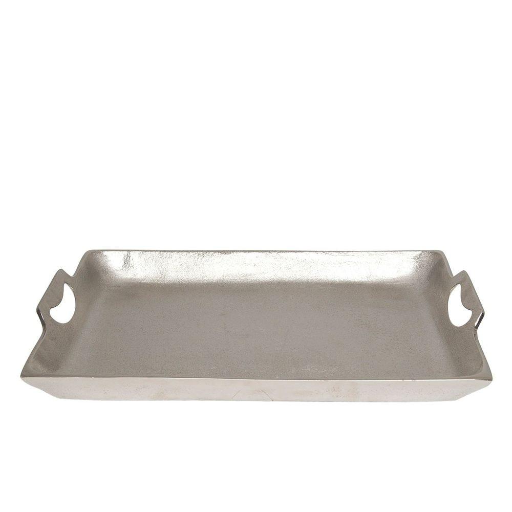 Tablett Domestica Mittel Aluminium Silber 3