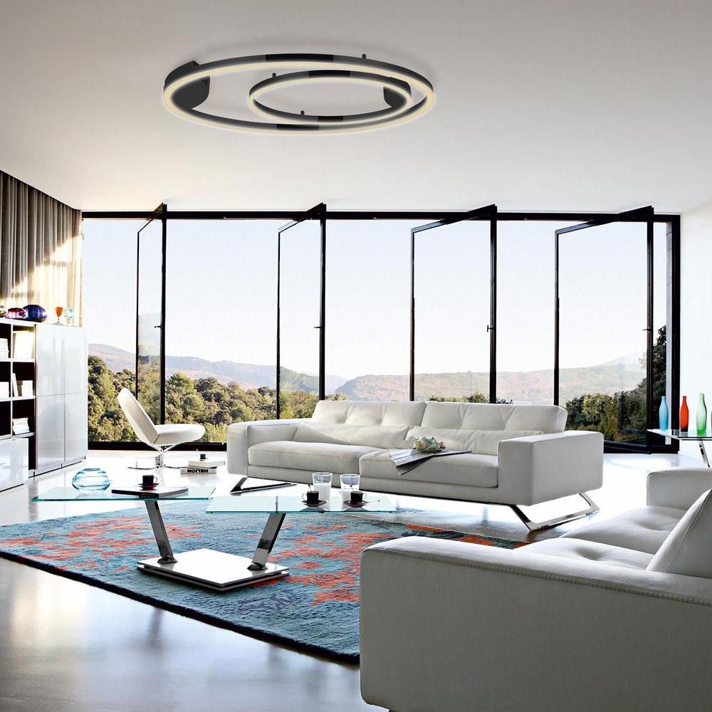 s.LUCE Ring 80 Wand & Deckenlampe LED Dimmbar 10