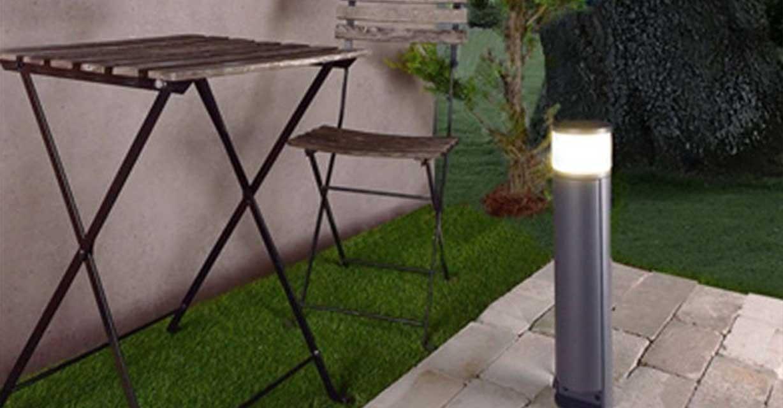 Pollerleuchte Rook Gartenlampe