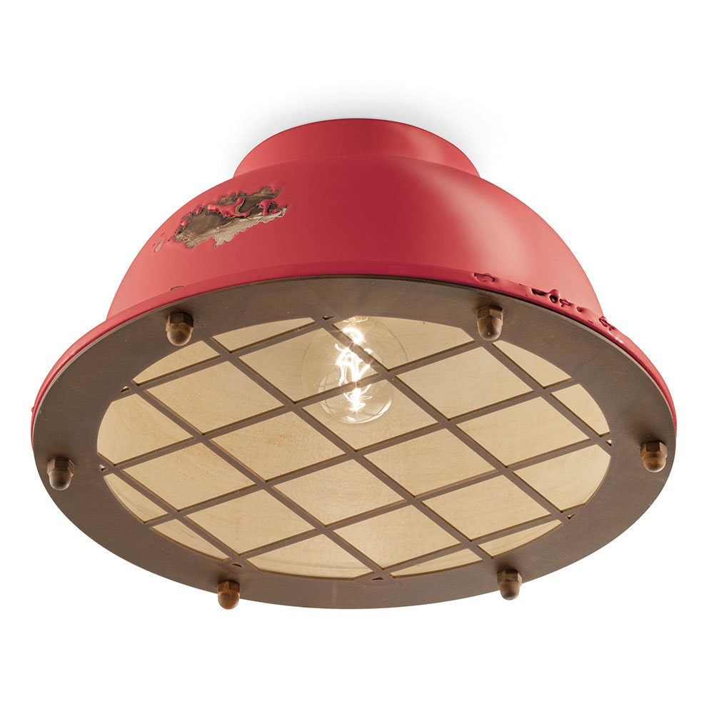 Ferroluce Industrial Deckenlampe 1