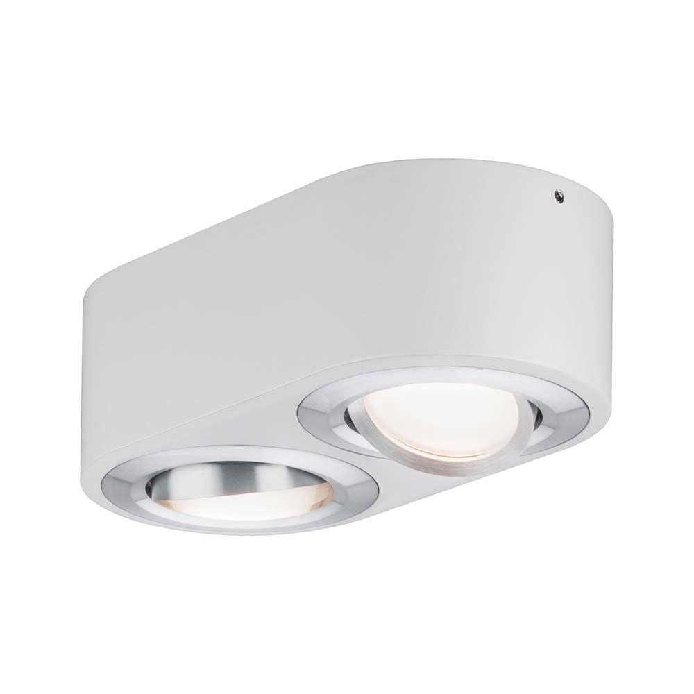 Wandleuchte Argun LED 2x4,8W Weiß Alu-Gebürstet 3
