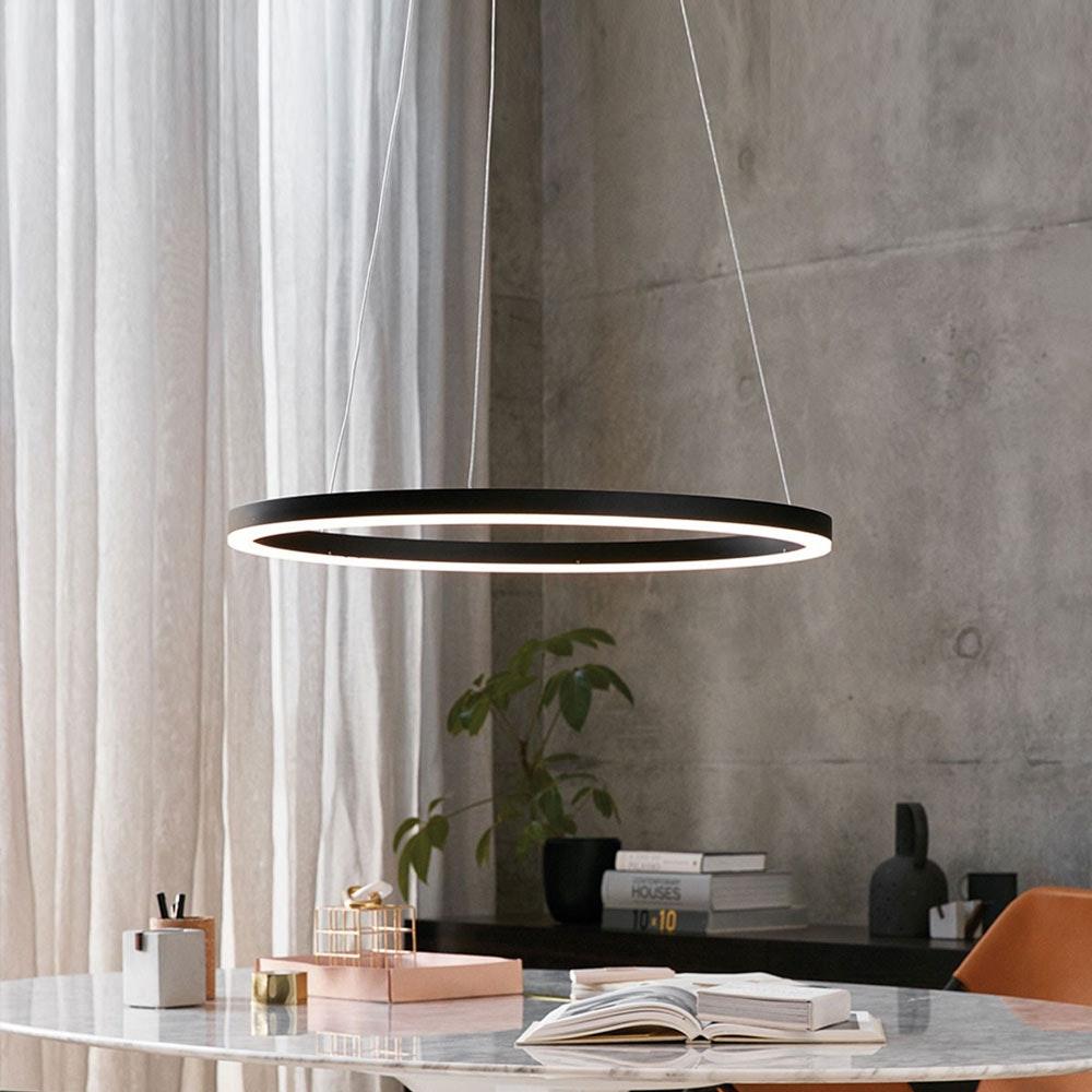 s.LUCE Ring 80 LED Pendellampe Dimmbar thumbnail 3