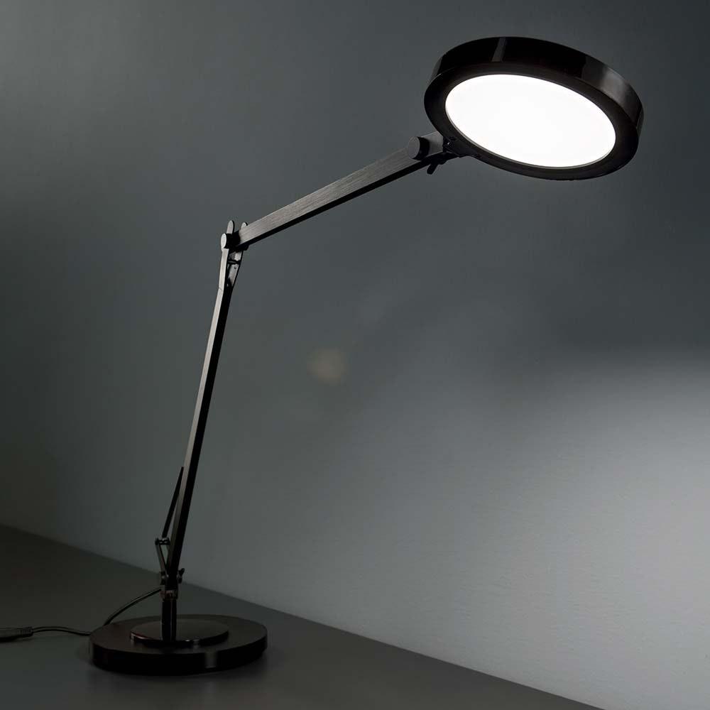 Ideal Lux LED Tischleuchte Futura Touchdimmer Schwarz 1