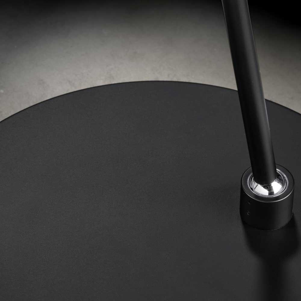 Holtkötter LED-Stehleuchte Plano S mit Tastdimmer Schwarz thumbnail 3
