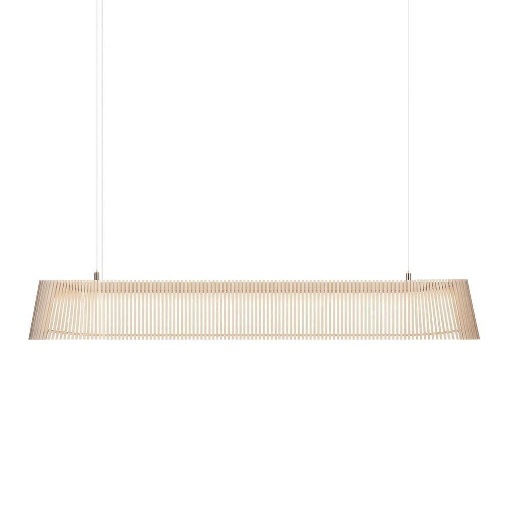 LED Pendelleuchte Owalo 7000 aus Holz 100cm 5