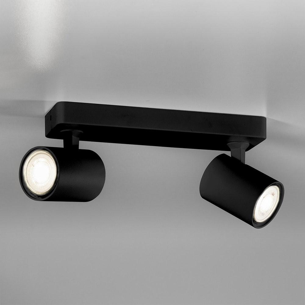 Licht-Trend Wand- und Deckenlampe Cup GU10 Schwarz 4