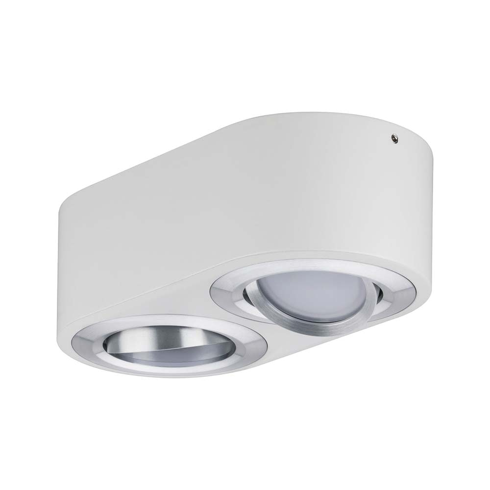 Wandleuchte Argun LED 2x4,8W Weiß Alu-Gebürstet 6